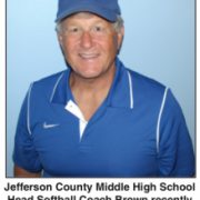 Smiling Softball Coach