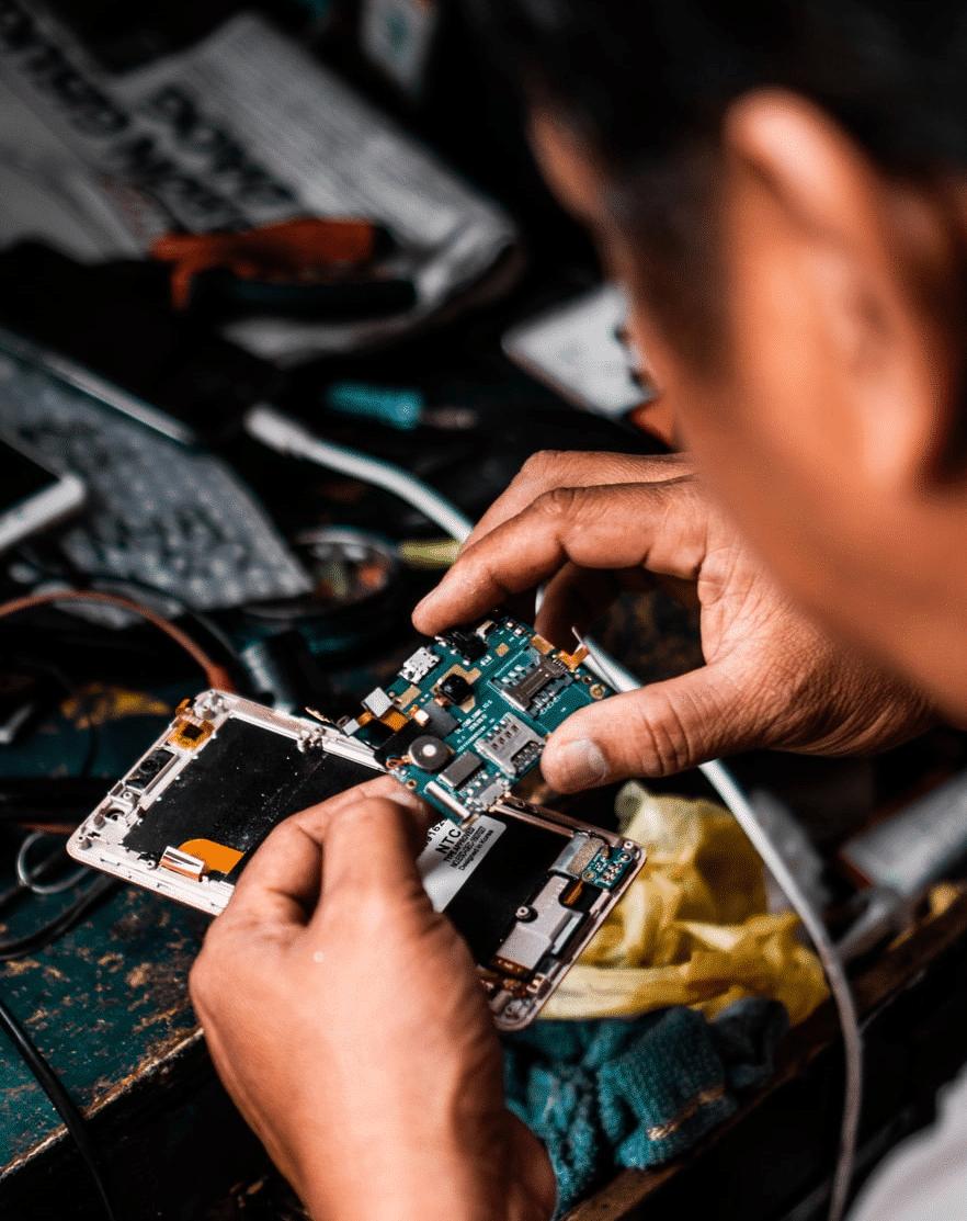 Repairing equipment