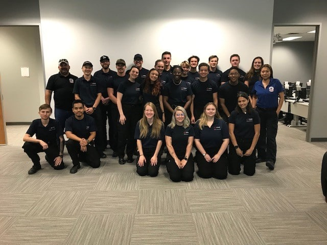 Graduating class at Unitek EMT